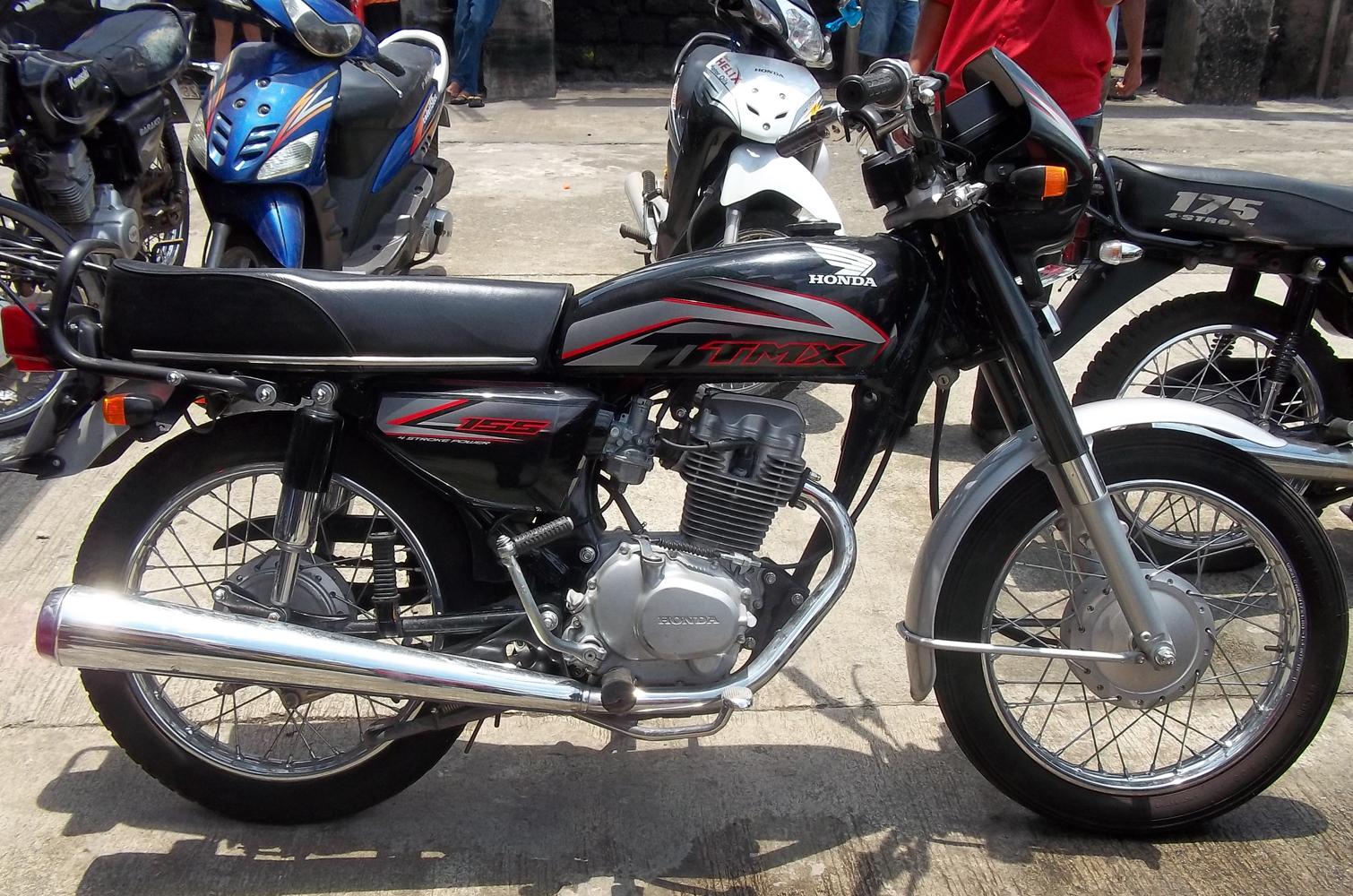 Honda Tmx 155  P55 000 On Cash And Installment Basis